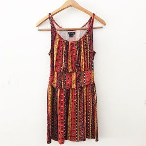 [Lucky Brand] Small Aztec Multi Colored Dress